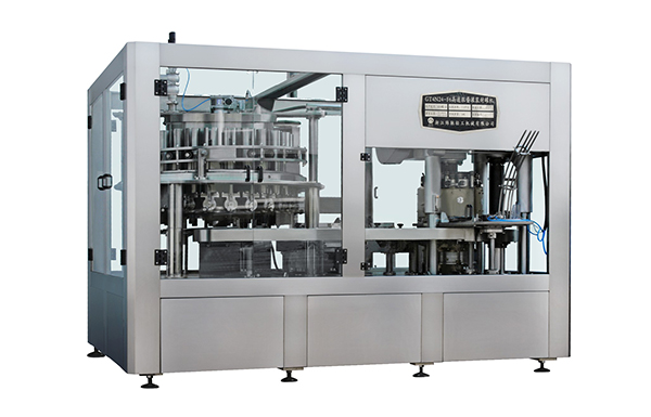 What are the methods to maintain the parts of the liquor filling machine