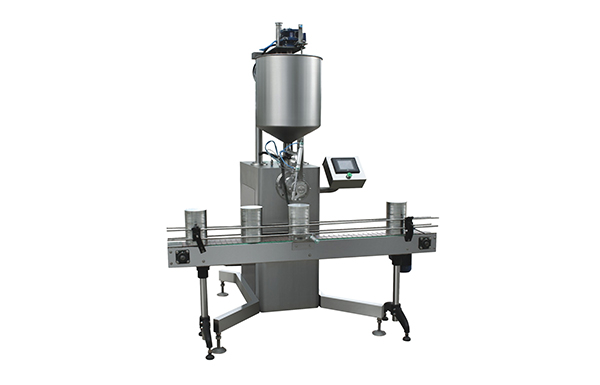 GGJ45 Big Can Strong Sauce Filling Machine