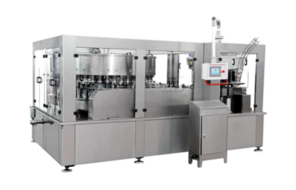 DGC7212 Double - wheel progressive sealing Filling and Seaming Machine